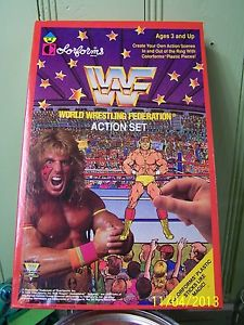 WWF Colorforms Action Set