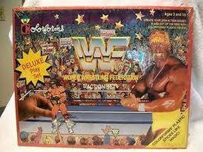 WWF Colorforms box