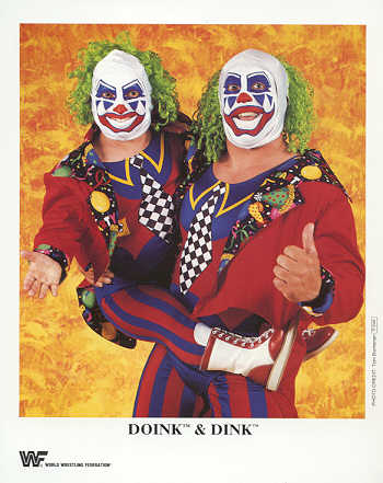 WWF Doink and Dink promotional photo