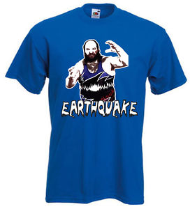 WWF Earthquake shirt