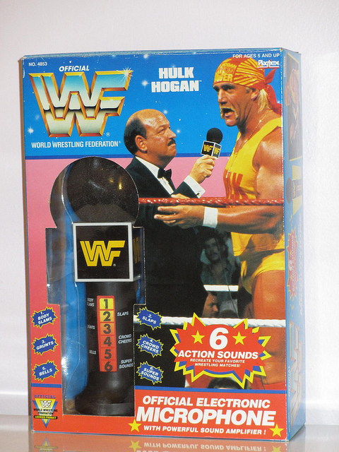 WWF Electronic Microphone Sounds
