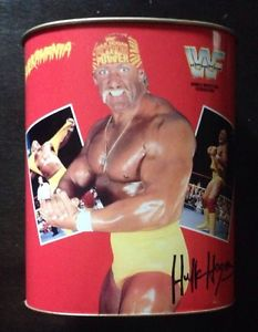 WWF Hulk Hogan Trash Can