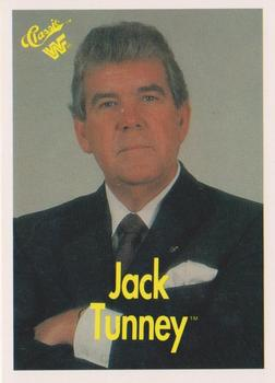 WWF Jack Tunney trading card front