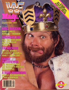 WWF Magazine September 1989 King Hacksaw Jim Duggan