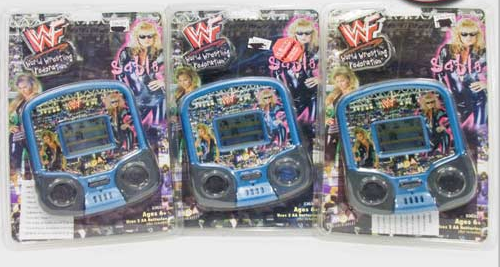 WWF Sable handheld video games