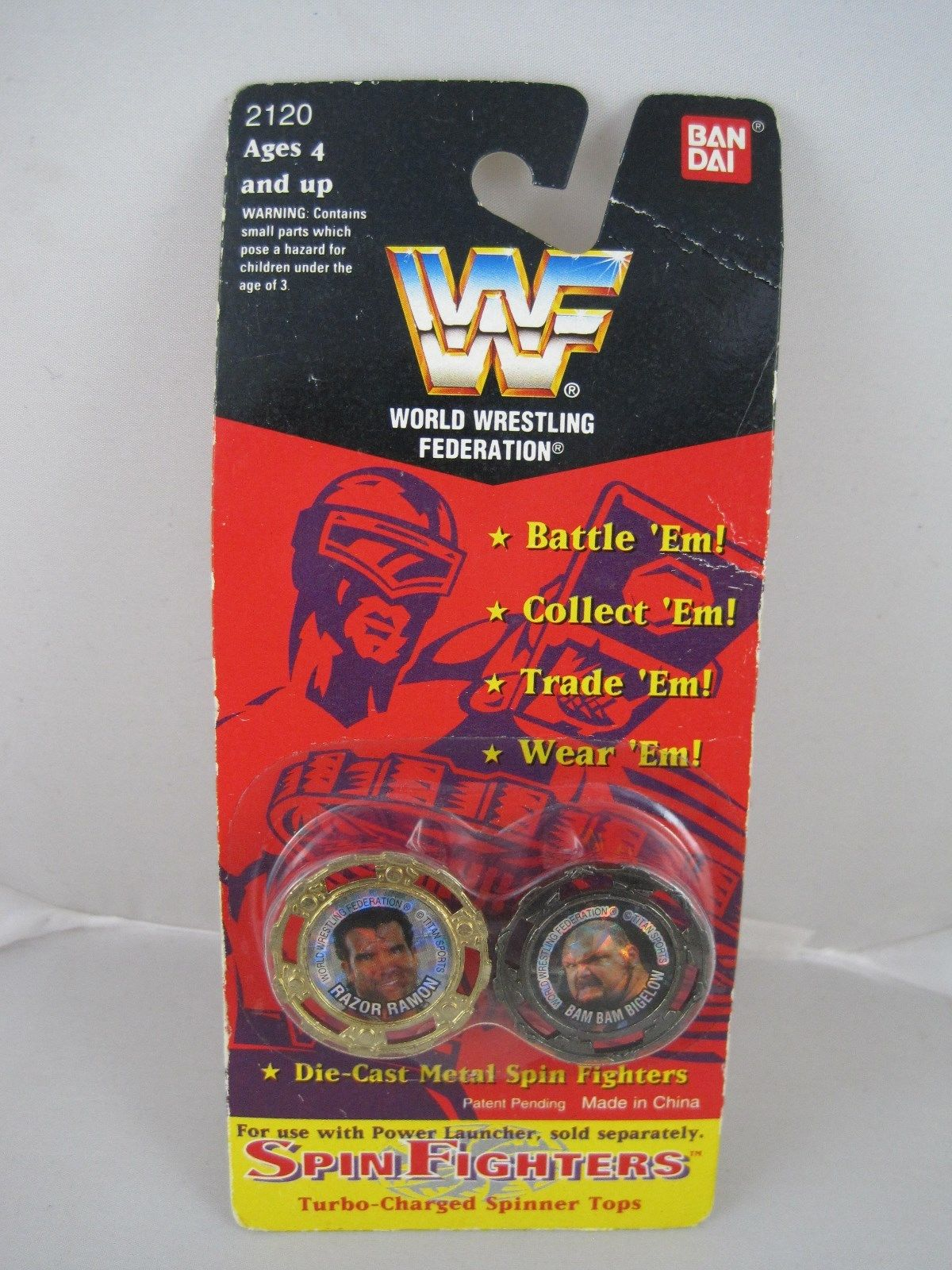 WWF Spin Fighters toy 1