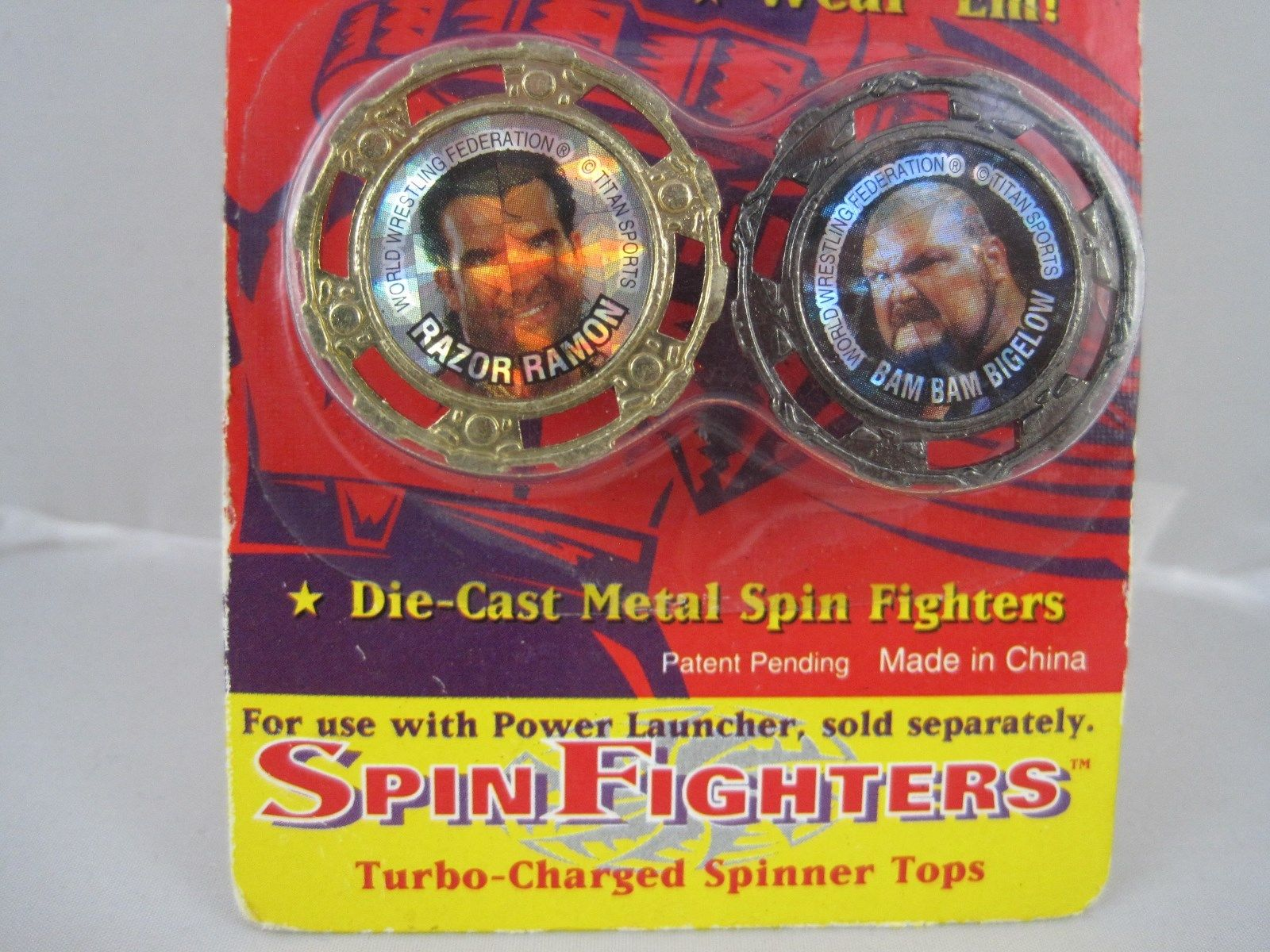 WWF Spin Fighters toy 2