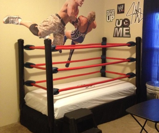 Someone Bought This Awesome Wrestling Ring Bed And