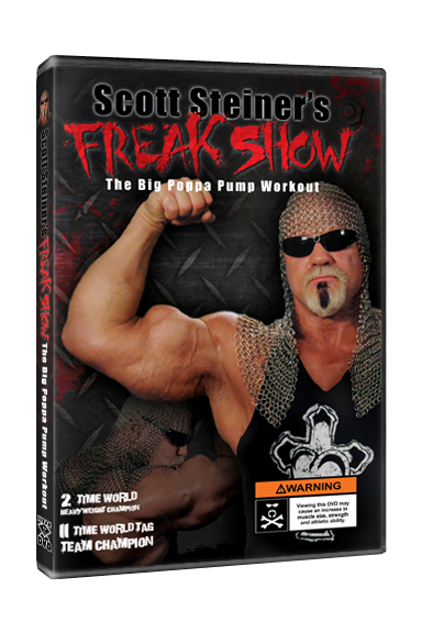 Scott Steiner Freak Show workout DVD