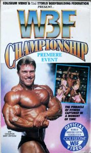 WBF Championship 1991 VHS video tape
