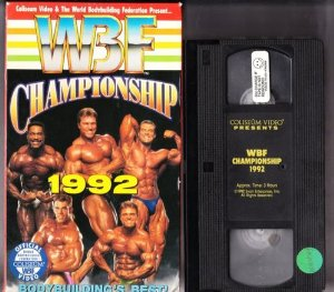 WBF Championship 1992 VHS video tape