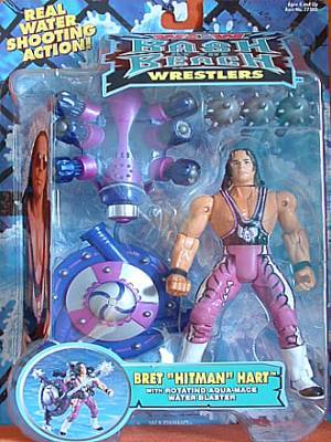WCW Bash At The Beach Bret Hart figure