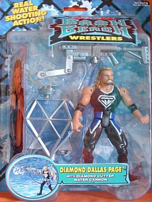 WCW Bash At The Beach Diamond Dallas Page figure