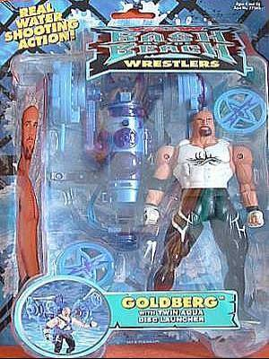 WCW Bash At The Beach Goldberg figure