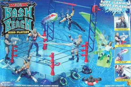 WCW Bash At The Beach Playset