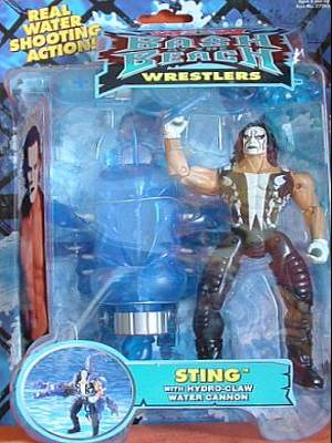 WCW Bash At The Beach Sting figure