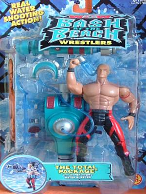 WCW Bash At The Beach Total Package Lex Luger figure