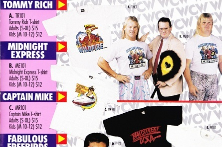 WCW Catalog Captain Mike shirt