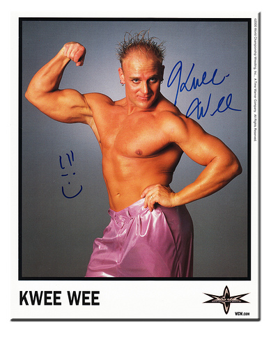 WCW Kwee Wee Angry Alan Funk 8x10 promotional photo picture