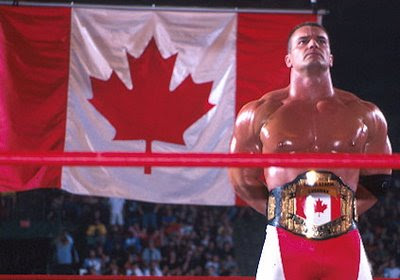 WCW Lance Storm Canadian flag