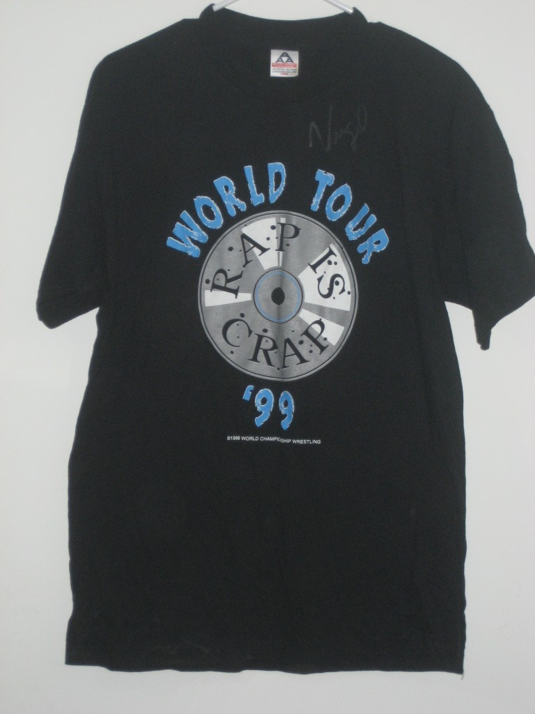 WCW West Texas Rednecks Rap Is Crap World Tour '99 shirt