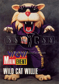 WCW Wild Cat Willie trading card