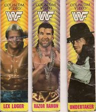 WWF Coliseum Video bookmarks Lex Luger Razor Ramon The Undertaker