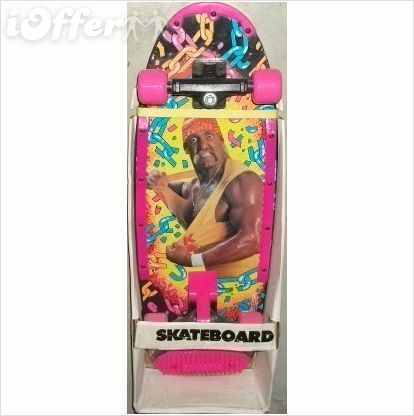 WWF Hulk Hogan Skateboard bottom