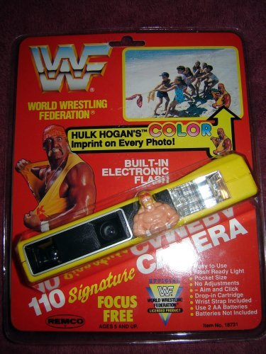 WWF Hulk Hogan camera