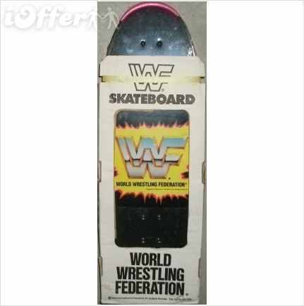 WWF Hulk Hogan skateboard top