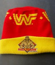 WWF Hulk Hogan winter knit cap hat