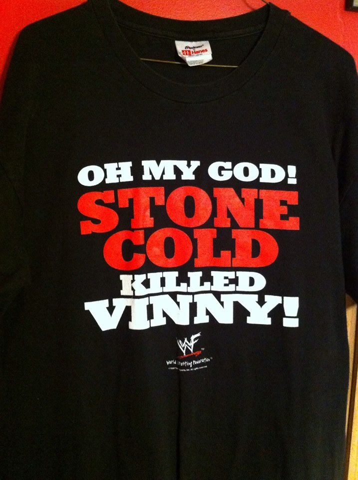 WWF South Park Stone Cold Steve Austin Killed Vinny shirt