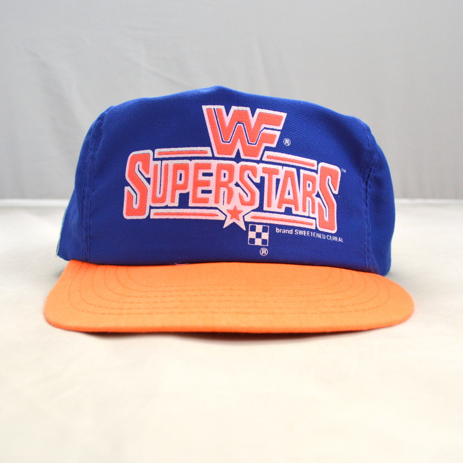 WWF Superstars Cereal cap hat 1