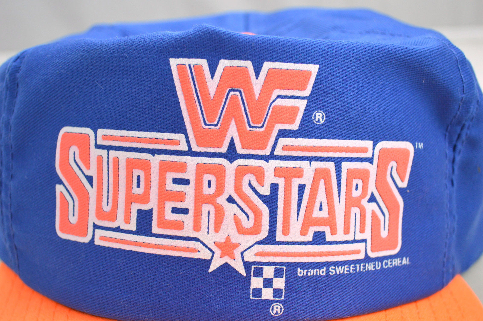 WWF Superstars Cereal cap hat 2