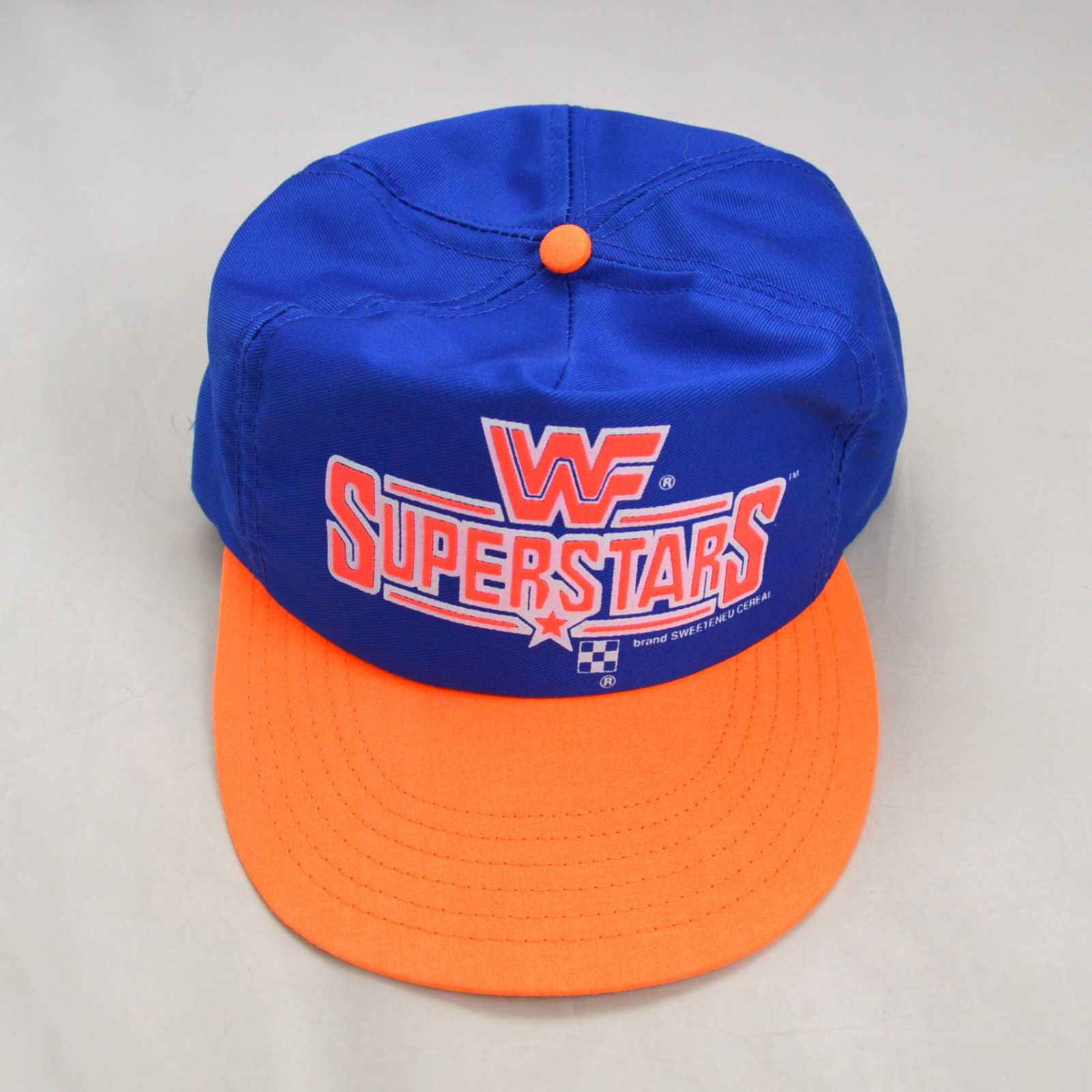 WWF Superstars Cereal cap hat 3