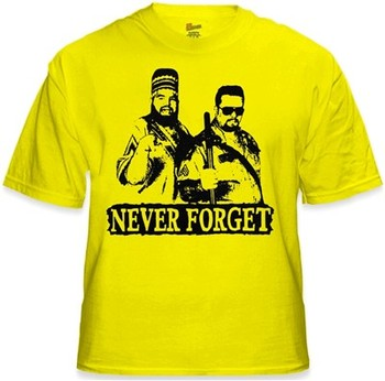 WWF Twin Towers Never Forget Big Bossman Akeem shirt