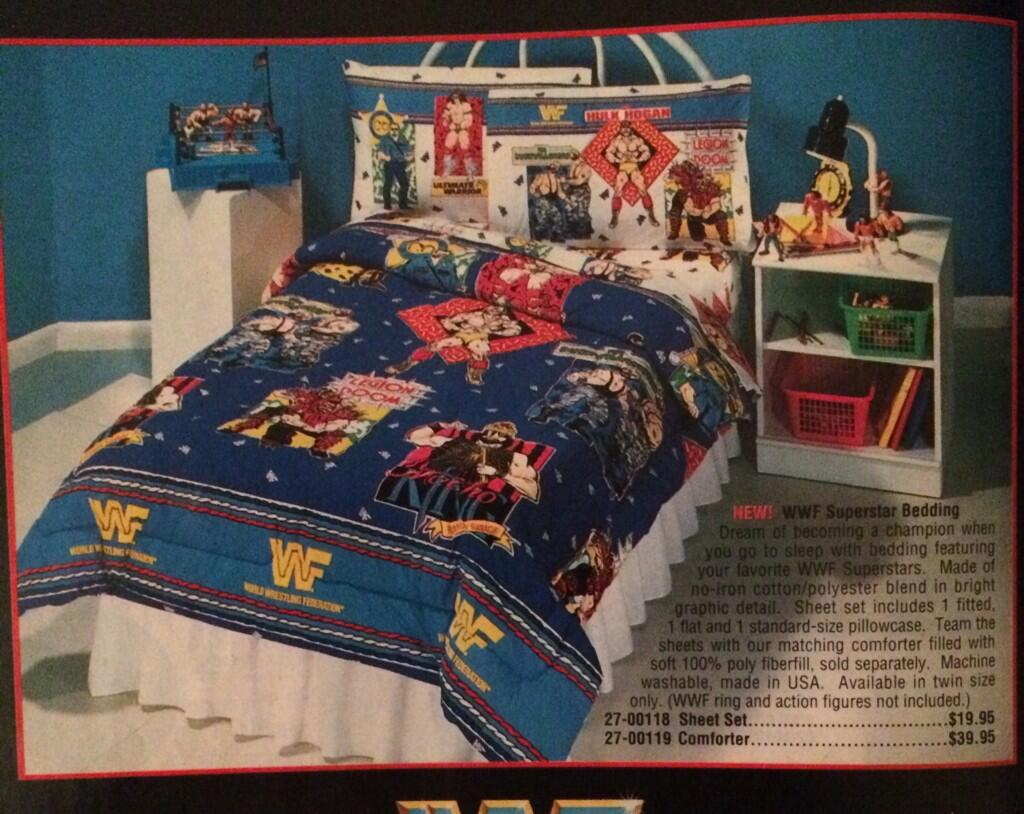 WWF bedding set catalog photo