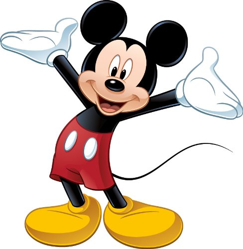 Mickey Mouse arms outstretched