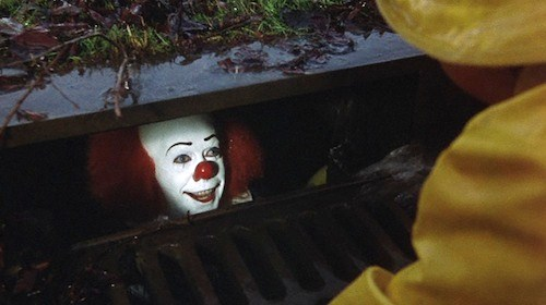 Pennywise The Clown in sewer