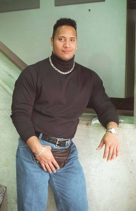 The Rock fanny pack 1996