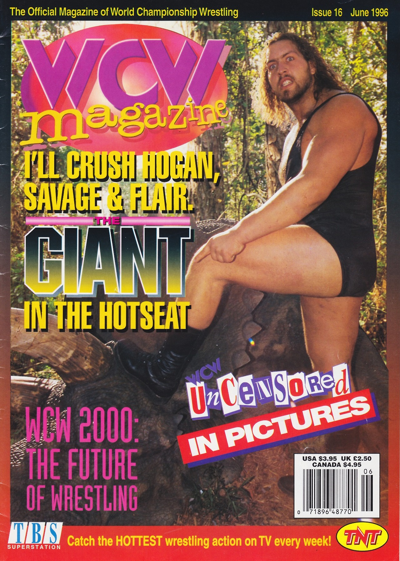 WCW Magazine June 1996 The Giant