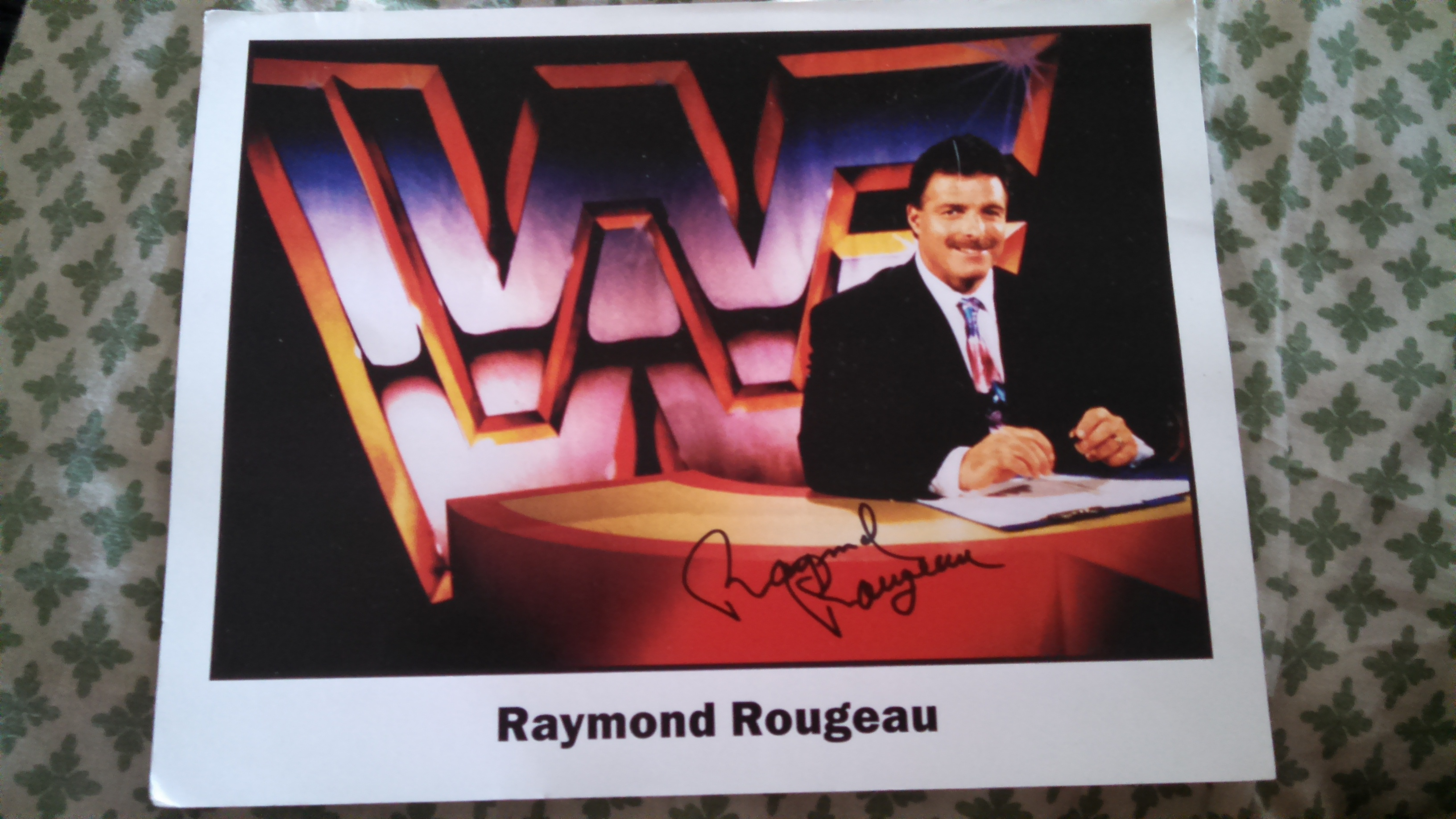 Ray Rougeau autographed 8x10 photo