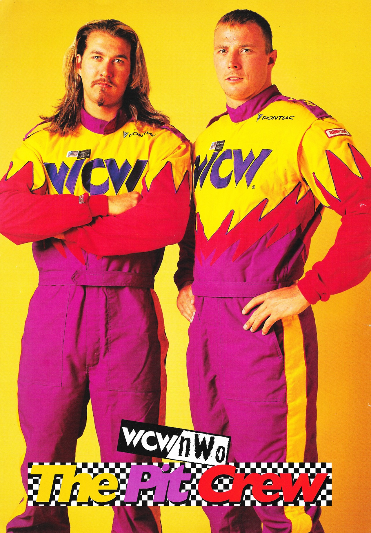 WCW The Pit Crew promotional photo