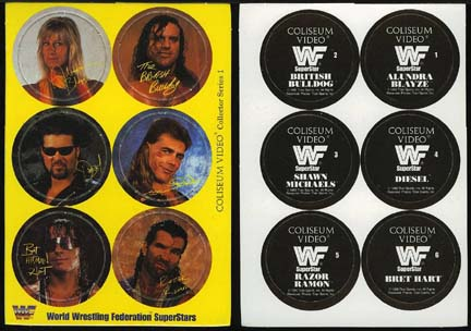 WWF Coliseum Home Video pots