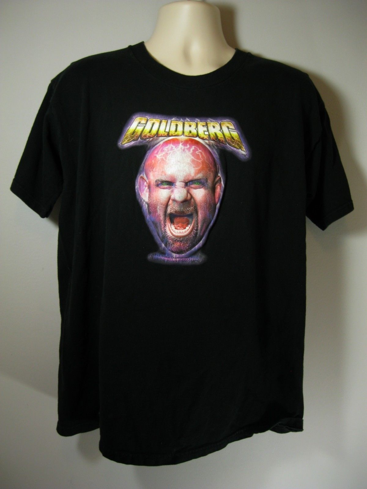 Bill Goldberg 3-D shirt 2