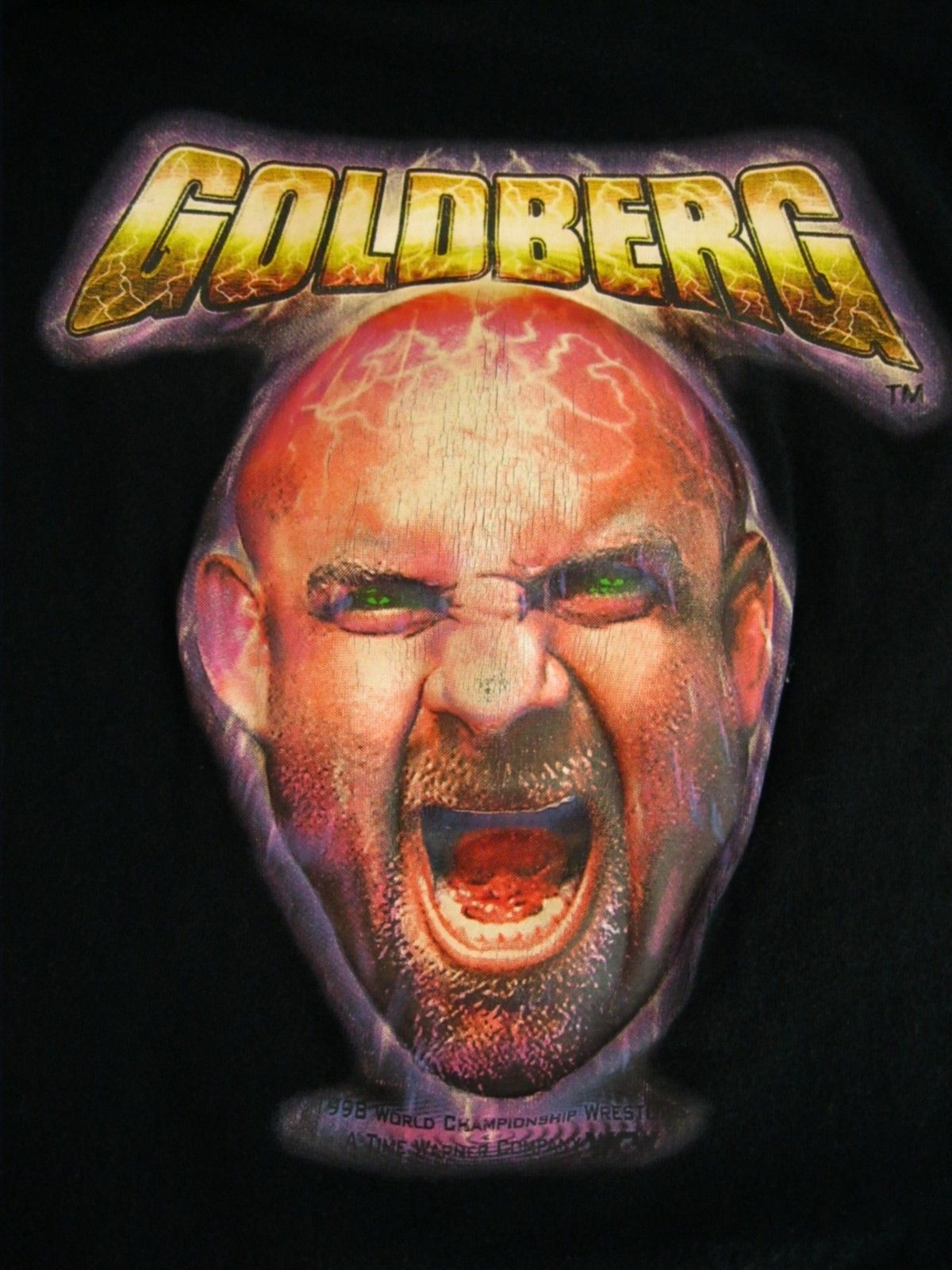 Bill Goldberg 3-D shirt 3