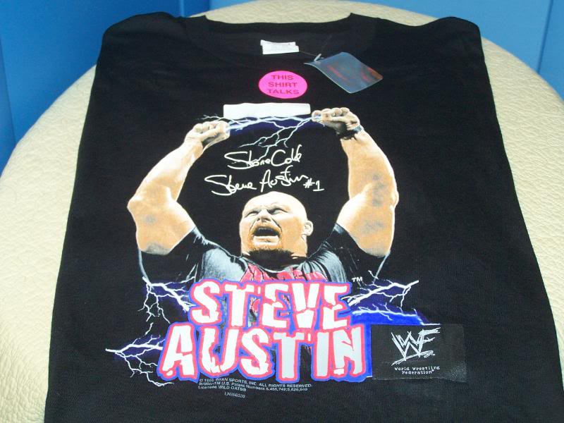 Stone Cold Steve Austin talking shirt 1