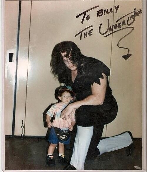 The Undertaker Billy signed picture photo