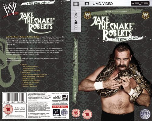 WWE Sony UMD for PSP Jake Roberts documentery
