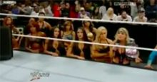 Induction: The WWE Walkout – Like the Invasion, but in reverse, and with more rectal hemorrhaging